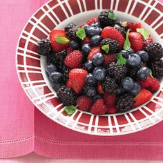 Rich with antioxidants, seasonal berries help ease wedding stress and anxiety.