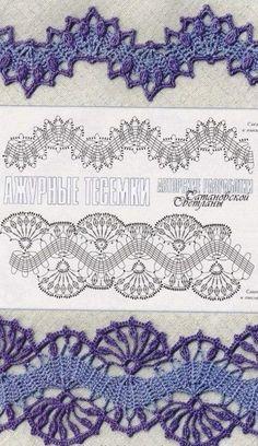 For instructions, click here:   http://ergahandmade.blogspot.gr/2015/06/crochet-stitches.htm  Via : http://woman7.ru...