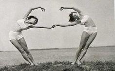 Vintage Partner Yoga