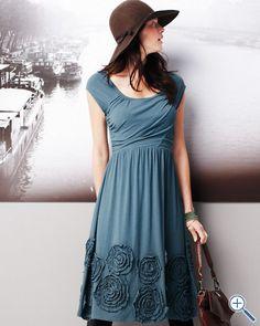 Rosette Knit Dress -  inspiration