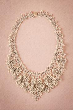 Camellia Crochet Nec