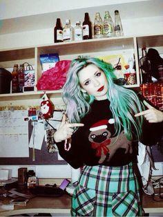 grunge and fashion image