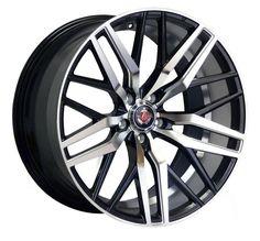 22 inch AXE EX30 5x120 BLACK 5 stud BMW Land Rover VW alloy wheels