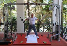 PHOTOS. Vladimir Poutine prend la pose en pleine séance de musculation