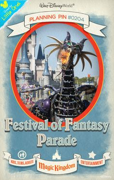 Walt Disney World Planning Pins: Experience all-new magic as Magic Kingdom park comes alive with music and dancing in this parade celebrating Fantasyland.