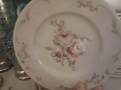 I have this whole set of China.....I love the pattern.....Very vintage.