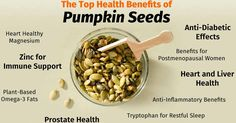 top health benefits of pumpkin seeds #plantbased #health