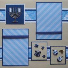 Creative Memories Jewel Hanukkah Additions 12x12 Paper Kit New