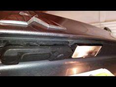 2011-2017 Mitsubishi Outlander Sport License Plate Lights - Test After Changing Burnt Out Light Bulb - YouTube