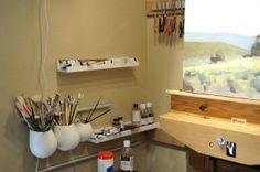 Creating Art In Small Studios