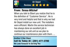 "When you talk to Elbert you realize that he is the definition of ""Customer Service"". He..."