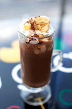 Banana Hot Chocolate | 16 Ways To Enhance Your Instant Hot Cocoa