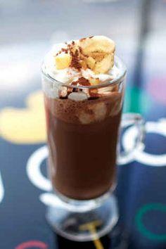 Banana Hot Chocolate | 16 Ways To Enhance Your Instant Hot Cocoa