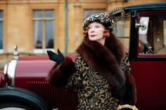 Shirley MacLaine on 'Downton Abbey' Season 3. Plays Martha Levinson, the mother of Cora, Countess of Grantham. Can't wait to see her and Maggie Smith, the Dowager Countess, spar!