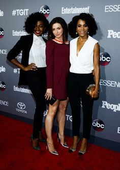 Caterina Scorsone Photos: Celebration of ABC's TGIT Line-up Presented by Toyota and Co-hosted by ABC and Time