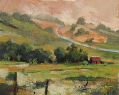 DPW Fine Art Friendly Auctions - Oil Landscape#1 by Michael Mikolon