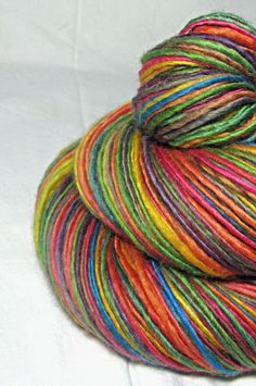 Handspun Yarn Gently Thick and Thin Light by SheepingBeauty, $34.00