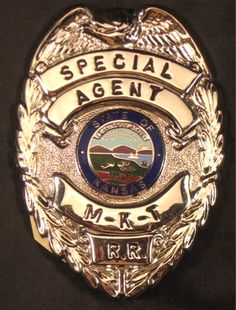 The Railroad Police Badges Page