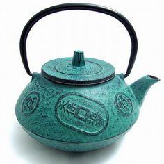 .Pretty tea pot.