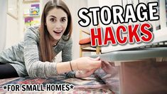Clever Storage Hacks for Keeping Small Homes Organized Organisation Hacks, Household Organization, Diy Organization, Smart Storage, Storage Hacks, Storage Ideas, Big Homes, Small Homes, Design Apartment