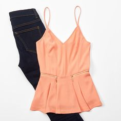 We can't get enough of #peplum tops!