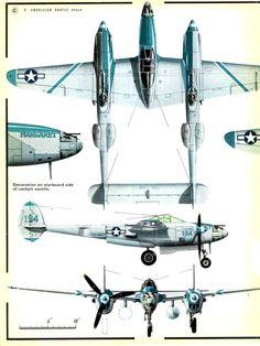 Lockheed P-38J - M Piorun