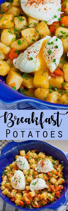 Breakfast Potatoes - Жареная Картошка - Tatyanas Everyday Food
