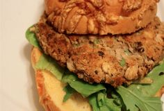 black & white bean veggie burgers, 4 points/serving #weightwatchers