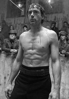 Robert Downy Jr. as Holmes<3