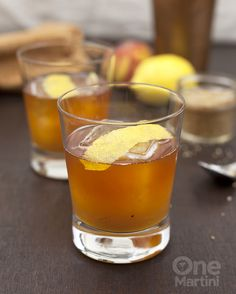 Peach bourbon iced tea