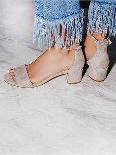 Free People Marigold Block Heel, $128.00