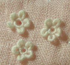 Southern Matriarch: Bullion loop flowers tutorial