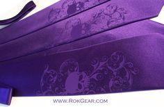 3 Mens neckties and 1 boys necktie - Wedding ties Distressed Skull Men's silkscreen by RokGear