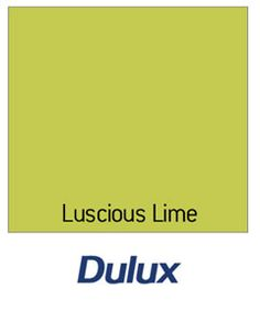 Dulux Feature Wall Matt Emulsion Paint - Luscious Lime - 1.25L
