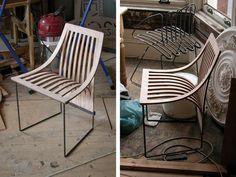 Resultado de imagen para sillas de alambre