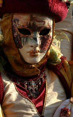 Portrait of a lady with a nice painted mask (IMG_3484a)   Flickr - Photo Sharing!