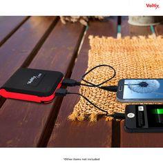 Voltix 6000mAh Dual-USB Power Bank Charger at 78% Savings off Retail!