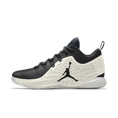 Nike Youth Jordan CP3.X Black White Woven Textile Trainers 40 EU jci3Vxrl3