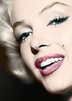 Marilyn Monroe | Click On Image or See Above ( Visit Site ) For Full Beautiful Face Pictures Gallery