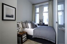 very small bed room