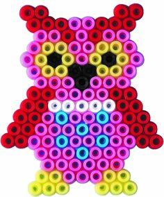 Owl Hama Mini Beads
