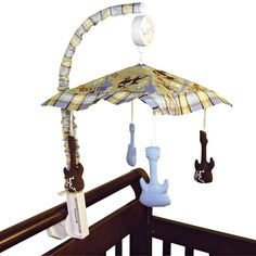 Have to have it. Trend Lab Rockstar Crib Mobile $42.98