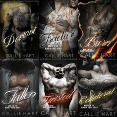 Românticos Books: Callie Hart - Blood & Roses #1 a #6