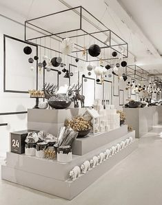 Task lighting over work desks? IA Fashionable Christmas | Normann Copenhagen Flagship Store