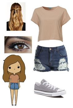 """""""✨""""Chibis"""" In Real Life #7✨"""" by ashleyneedstoshutup on Polyvore featuring xO Design, Mavi, Converse and Natasha Accessories"""