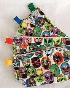 Lucha Libre Mascaras de Pelea Reusable Tote Bag and Matching