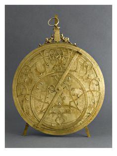 Astrolabe planisphérique par CARL-GEORG ARSENIUS - Musée national de la Renaissance (Ecouen)