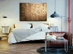 Obraz malowany na płótnie lnianym, naciągniętym na grubą sosnową blejtrame, nie wymaga obramowania, boki zamalowane jako kontynuacja obrazu.  Nasze obrazy jako jedyne w Polsce posiadają tak wyraziste i grube struktury. #canvas #obraz #design Painting Canvas, Bed, Furniture, Home Decor, Living Room, Decoration Home, Stream Bed, Room Decor, Home Furnishings
