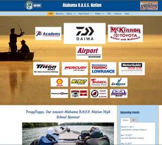 October 2015  The Alabama B.A.S.S. Nation, Inc. is a nonprofit, tax-exempt umbrella organization for affiliated bass clubs in the state, and is one of the fifty-one state and international chapters that make up the amateur arm of the Bass Anglers Sportsman Society. Design Development, Non Profit, Alabama, Bass, High School, October, Organization, Website, Getting Organized