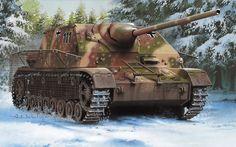 Немецкая САУ истребитель танков Panzer IV-70(A)